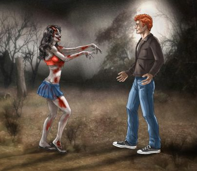 Zombie Love by ric3do