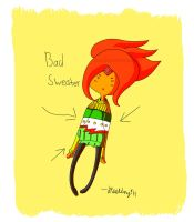 Bad Sweater: Flame Princess by Dhendersonart