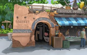 Disney Drink Stand by CamT