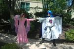 Cadance and Shining Armor Cosplay by WhiteHeather