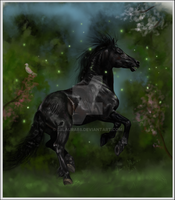 Friesian Spirit by 88Laura88