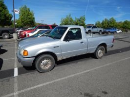 2003 Ford Ranger XL Regular Cab by TheHunteroftheUndead