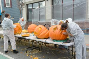Pumpkin Carving Artists, Master Work 12 by Miss-Tbones