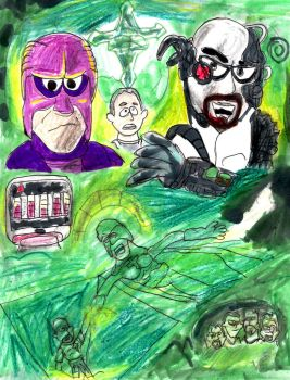 Bibleman: The Fiendish Works of Dr. Fear by SonicClone