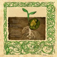 Book of Shadows, Imbolc page 2 by Brightstone