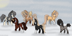 All my Mares by michelle222