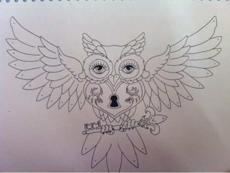 WIP Owl by SJFitton