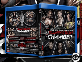 Wwe Elimination Chamber 2013 Blu-ray Cover by Mohamed-Fahmy