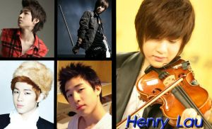 Perfect Violinist: Henry Lau by Lvr94Clan
