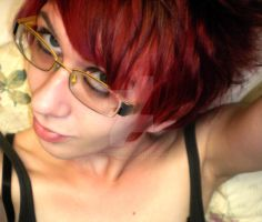 New hair cut and red hair by WistfulDesigns