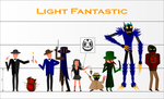 Light Fantastic Characters by ISawEverything