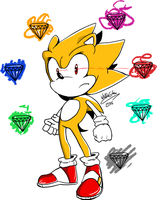 Super Sonic by wallacexteam
