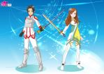 Andrew and Gem in SAO by V1EWT1FUL