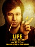 Bill Hicks - Propaganda Art Poster by Hal Hefner by HalHefnerART
