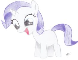 Young Rarity by Fatfighterfriedi