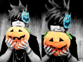 Roxas - Pumpking King by XionsTwilightTower