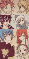 My Fairy Tail Pairings! by BurningEyedShana