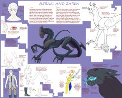 Hetherev: Azrael and Zaren by SEZwho