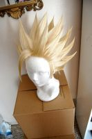 Son Gohan wig commission by maggifan