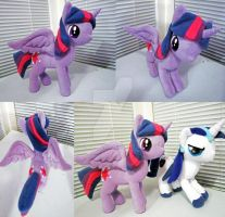 Alicorn Twilight Sparkle Plush by Chochomaru