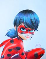 Ladybug from Miraculous! by RachelRie