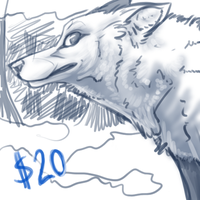 Premade Wolf SOLD by TallestSky