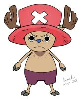 Tony Tony Chopper Colored by LoochOnTheLoose