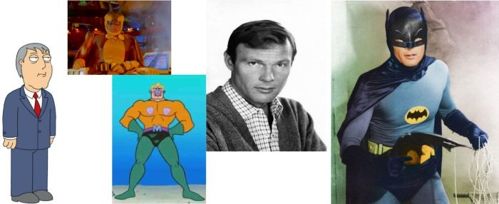 Tribute to the late Adam West by TheNoblePirate