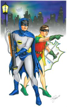 Gotham City 1966 by andypriceart