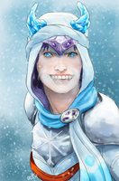Ice Fang by Aerorwen