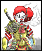 Ronald the Samurai by TheVentra