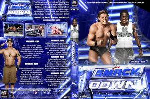 WWE SmackDown November 2012 DVD Cover by Chirantha