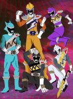My Extra Kyoryuger by LavenderRanger