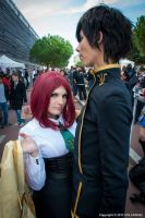 Lelouch and Kallen by dahcyst