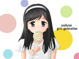 seohyun SNSD by deAtHwiSH90