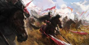 Winged Hussars by wildheadache