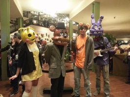first day at Sac-awesome Five Nights at Freddy's by ArthurJones93
