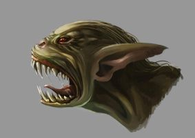 Goblin's Head by JowieL