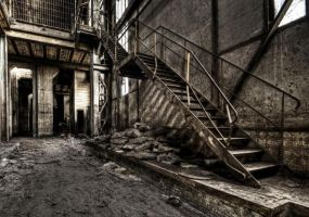 Steel Stairs by stengchen