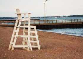 Lifeguard Chair by FrankTheSixFootBunny