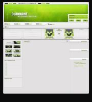 Green ClanTemplate by xSc4Rx