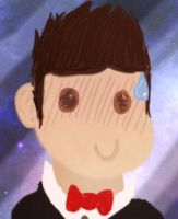 Dude with Bowtie #2 by MightyCape