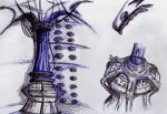 TARDIS Sketches 1 by Padfoot-x