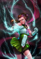 Sailor Jupiter by riordan-j-flynn