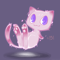Mew by Catsupy