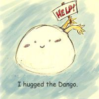 Hug the dango by AmberStoneArt