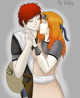 Point Commission - Gaara and Hanako by Ardate