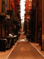 back alleys of boston. by UnapologeticApathy