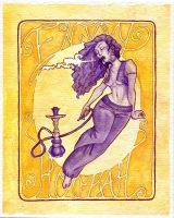 Enjoy Hookah Poster by paigehwarren