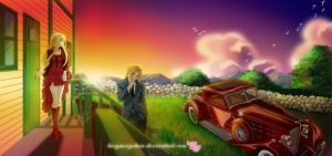 Edward and Winry_Dating by LucyMeryChan